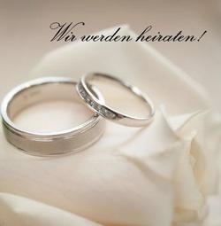 Hochzeitseinladungen Mit Ringmotiven Von Traupost De