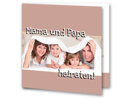... Mama U0026 Papa Heiraten   Hochzeitseinladung Mama Und Papa Heiraten Mak