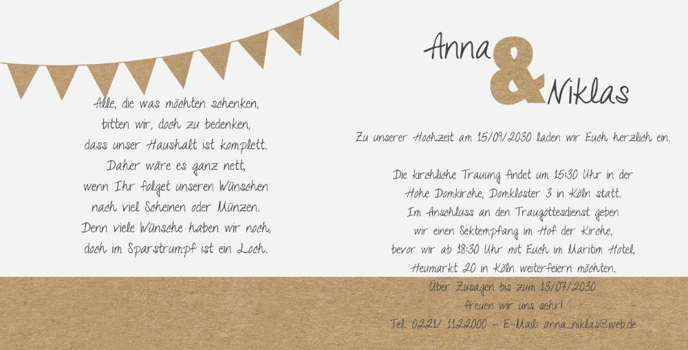 Hochzeitseinladung Text Modern | animefc.info
